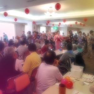 施設の夏祭り(ノ≧▽≦)ノ