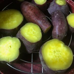 食欲の秋〜さつまいもの美味しい季節です✩‧₊˚
