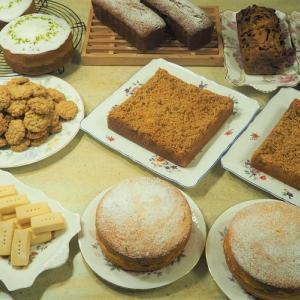 英国菓子がいっぱい