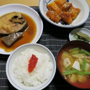 煮魚定食、炊屋食堂の秋menu・・・
