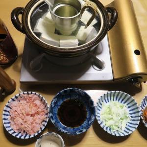 湯豆腐、寒くなると・・・炊屋食堂の冬menu・・・