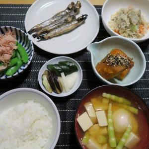 和定食、炊屋食堂の質素倹約一汁三菜、簡単安く旨く・・・昭和の味。