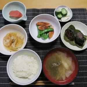 田舎定食、炊屋食堂の質素倹約一汁三菜、簡単安く旨く・・・昭和の味。