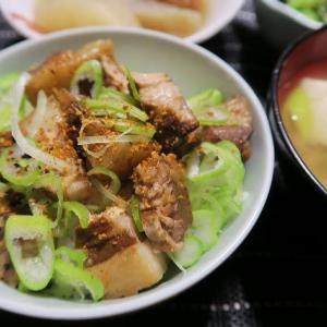 チャシュ~きざみ丼、炊屋食堂の質素倹約一汁三菜、簡単安く旨く・・・庶民の味。