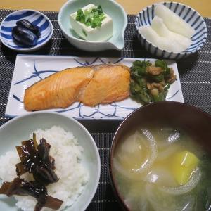 焼き魚定食、丸銀・・・炊屋食堂の庶民の味