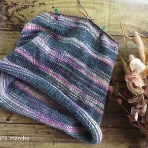 Beanie編んだり靴下編んだり