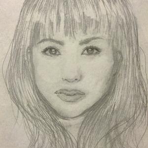 似顔絵88~松田聖子さん