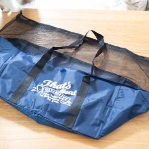 3コインズのレジカゴバッグは300円でコスパ良し。