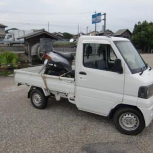 三菱 軽トラ整備
