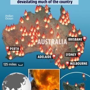 オーストラリア山火事避難経験2020