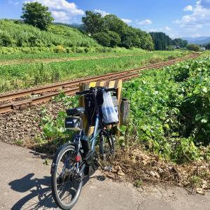 秋田内陸鉄道沿線を電動アシスト自転車で走ってみました
