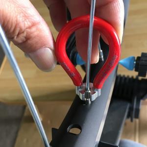 電動アシスト自転車PAS CITY-Xの後輪ホイールを手組みしてみました