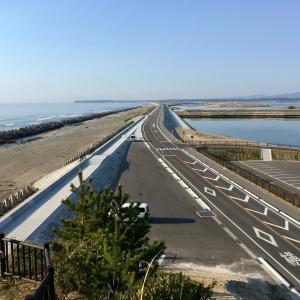 太平洋と松川浦を望む大洲松川浦ラインを縦断してみた。