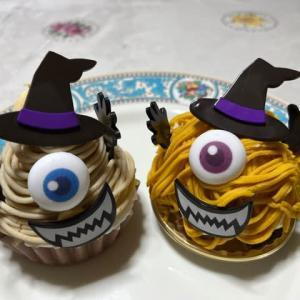 モンスターモンブランケーキとモンスターパンプキンケーキ