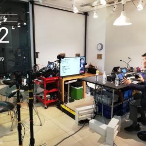 ヒマナイヌスタジオ大手町はカメラ目線でウェビナーを収録しやすいモニターレイアウトに変更しました!