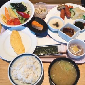 スカイグリルブッフェレストラン空桜 SORA「朝食ブッフェ」@秋田ビューホテル