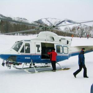 ski日記 番外編 (1) 2003 栂池ヘリスキー