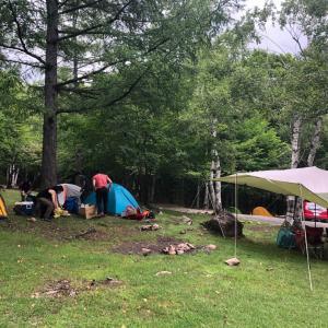 念願のキャンプナイト