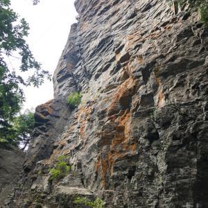 見晴岩クライミングDay1