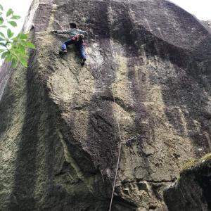 外岩72)小川山〜親指岩day5