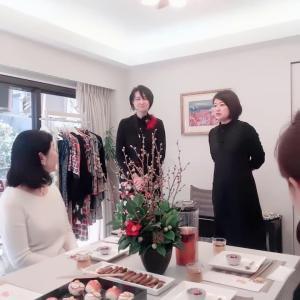 花・食・文様で日本の四季を愛でる会で「椿」の世界を堪能!!