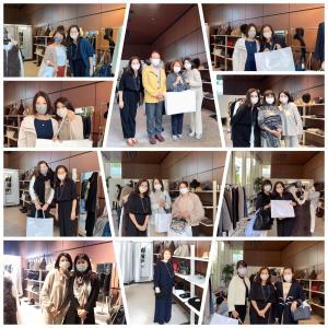 2日目のステキなお客様@芦屋発ライフスタイルブランドLiSA LiSA東京スペシャルショ