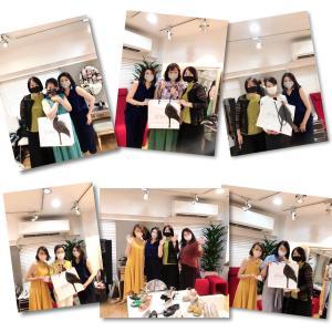 靴にお悩み、靴好き美女達と共に疲れない美人靴の東京期間限定Shop2日目!