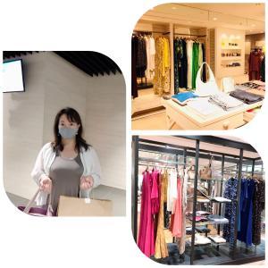 美しくグラマラスな女性経営者様のオフの日用ショッピングアテンド