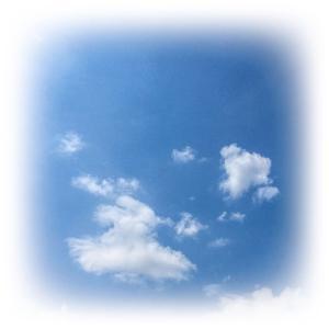 あっ、雷だぁ~…、あれっ!!お天気急変!?