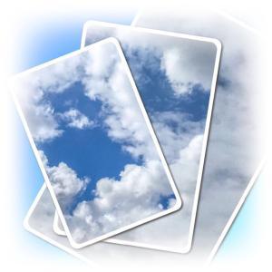 やっぱり空模様は、雲があると楽しい♪
