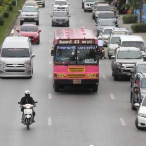 カオサン通りから、ワットパークナームへ10バーツで行く方法【タイの日々part363】