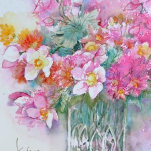 秋明菊と小菊