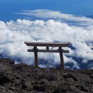 富士登山初チャレンジ