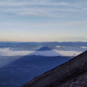 富士登山初チャレンジ下山