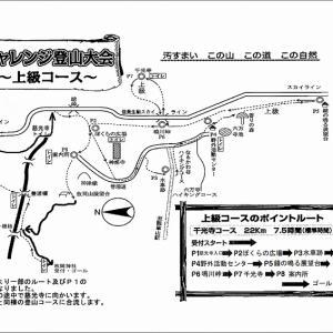 第43回東大阪市民チャレンジ登山大会