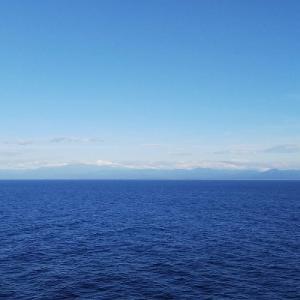 2019年北海道ツーリング復路フェリー船中~下船