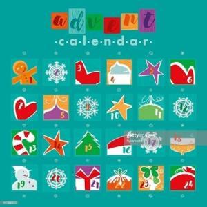 アドベントカレンダーの季節