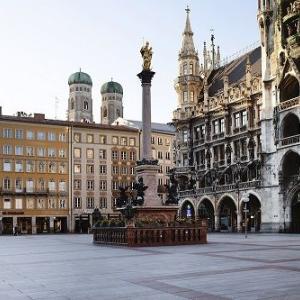 静かなミュンヘンの街