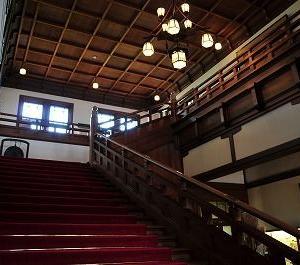 日本の宝物、和洋折衷のホテル