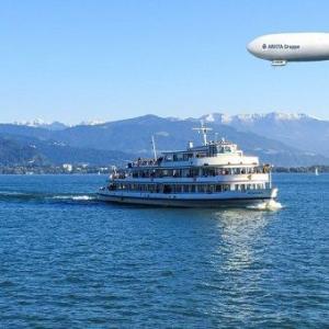 飛行船ツェッペリンの故郷・ボーデン湖