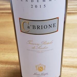 年末年始に飲んだワイン・最終話 2015カ・ブリオーネ ニーノ・ネグリ
