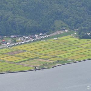 木崎湖俯瞰強行撮影