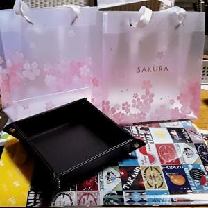 #桜満開🌸 #4月3日生まれ #birthdayプレゼント J様ありがとうございました 今年は、特に染みるなぁー。なんて優しいんだろう➰。こんなご時世にと言われて傷つきましたが癒されるー。
