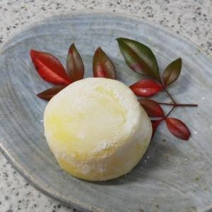 クリーム大福、ふわふわヨーグルトパン&ニンジン葉天ぷら、鯛ご飯★