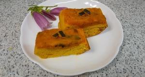 パンプキンケーキ、抹茶あずきパン、米せんべい&畑の収穫、アジサイ盛り〓