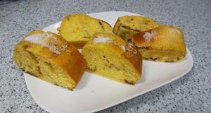 コーヒーパウンドケーキ、ロバのパン&仁淀川河口景色〓
