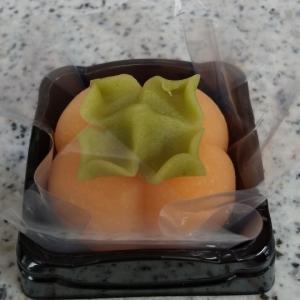 創作和菓子(柿)、ちりめんかき揚げ&野いちご収穫️