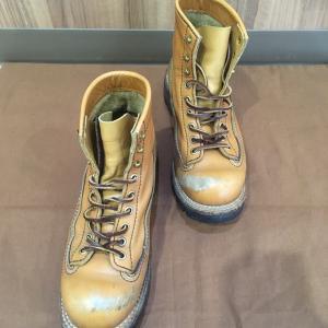 ロンウルフブーツ 靴磨き 太田市の合鍵、靴修理、印鑑はみらい工房