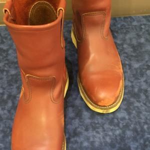 レッドウィング 靴磨き 太田市の合鍵、靴修理、印鑑はみらい工房