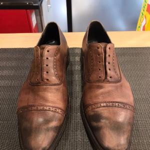アンティーク調靴磨き 太田市の靴修理はみらい工房 ☆正社員募集中です!☆